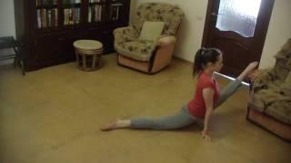 Малахова Елена, стретчинг (растяжка), как стать гибким