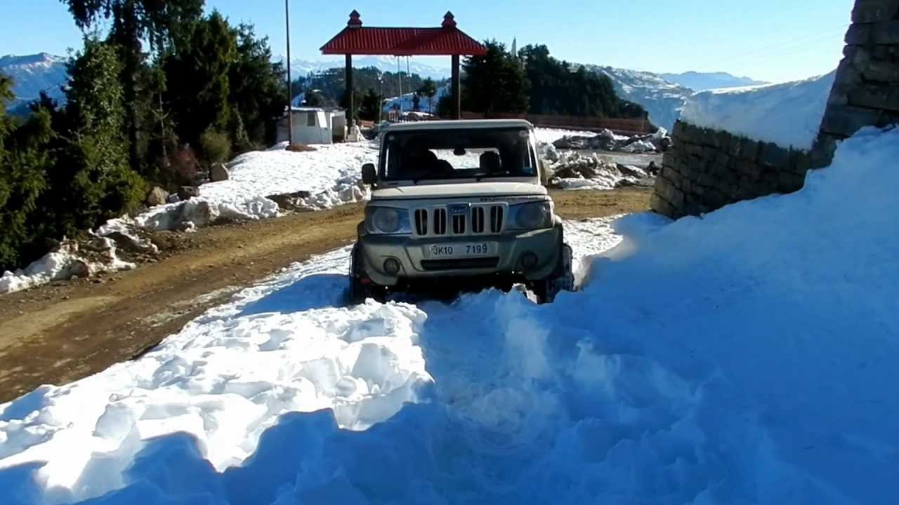 how to drive in snow with 4wd