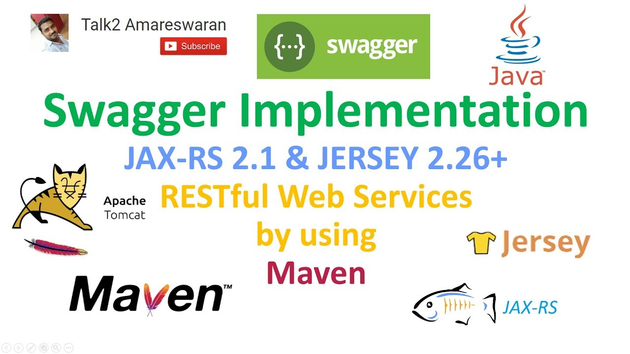 Swagger implementation in JAX-RS and Jersey RESTful web services with Maven  and Apache Tomcat