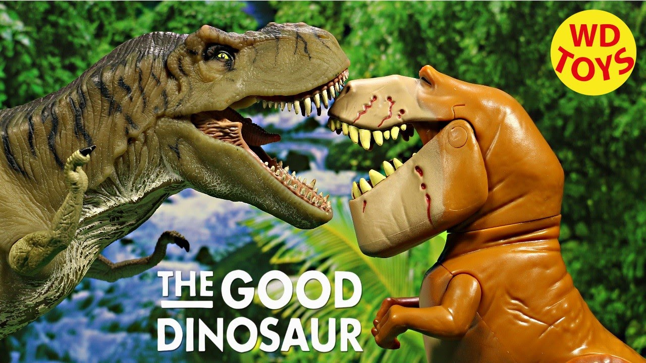 Disney The Good Dinosaur Butch Extra Large Figure , Pixar Unboxing, Review  By WD Toys