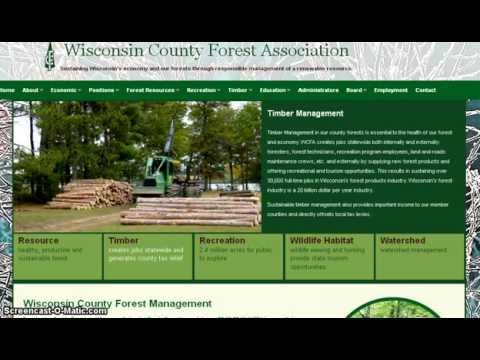 Oregon Logging Checkerboard and Wisconsin Logging Difference