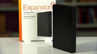 You'll want to get two of these Seagate Expansion portable drives