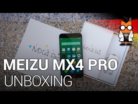 Meizu MX4 Pro Unboxing [deutsch]