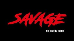 Bahari - Savage (Nightcore Remix)