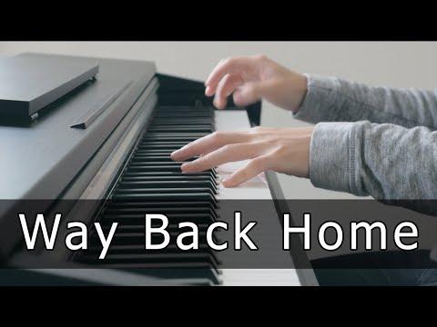 Shaun (숀) - Way Back Home (Piano Cover by Riyandi Kusuma)
