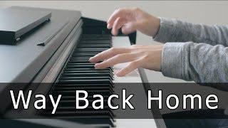 Download lagu Shaun (숀) - Way Back Home (Piano Cover by Riyandi Kusuma)