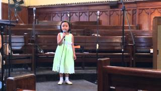 """The Lord Is Good To Me"" by KC @ Silliman Church"