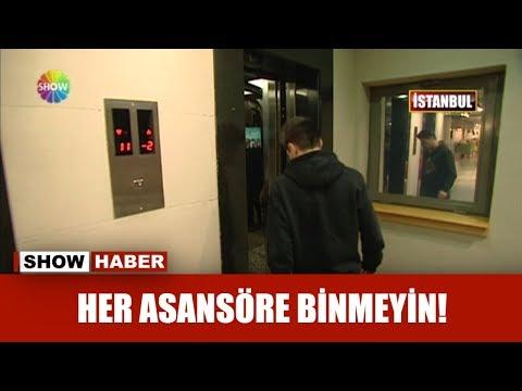 Her asansöre binmeyin!