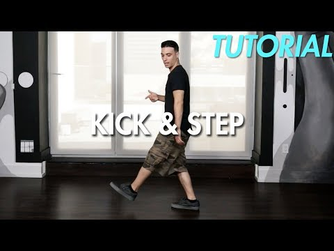 How to do the Kick & Step (Hip Hop Dance Moves Tutorial) | Mihran Kirakosian