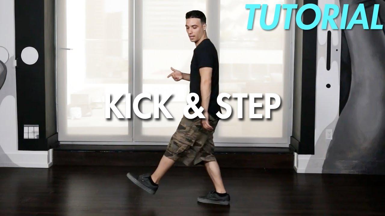 How to do the Kick & Step (Hip Hop Dance Moves Tutorial)   Mihran Kirakosian
