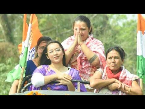 ankita-dutta-speech-election-campaign-at-goalpara-assam-india