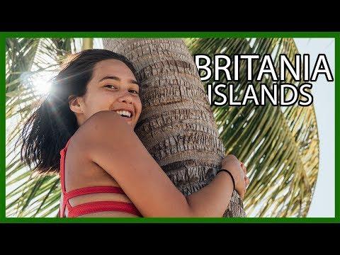 NAKED ISLAND Hopping in Surigao Del Sur // Britania Islands
