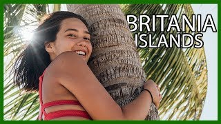 NAKED ISLAND Hopping in Surigao Del Sur // Britania Islands