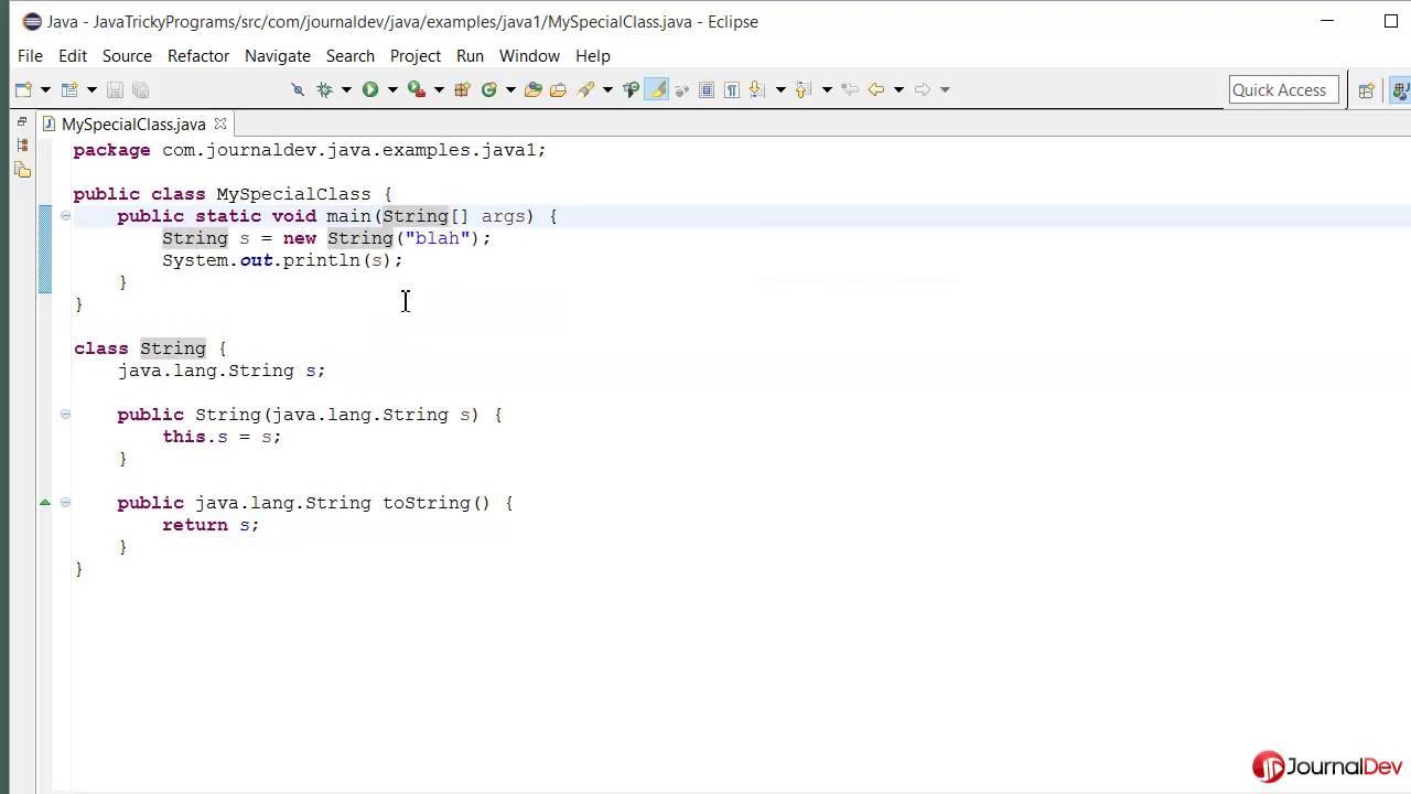 Java Tricky Program 23 - Main method signature