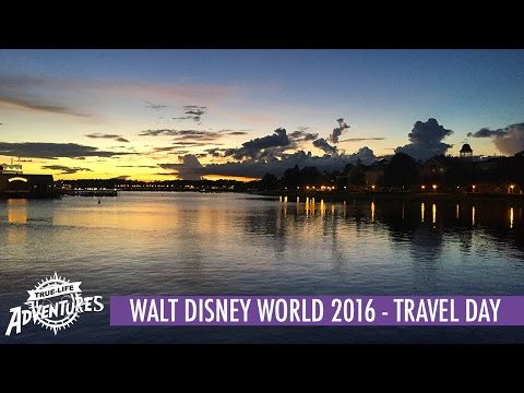 Walt Disney World 2016 | Travel Day | Flying to Orlando and Arriving at Disney's Saratoga Springs!