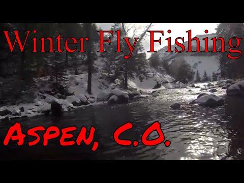 Winter FLY FISHING, Aspen C.O. 2018 Vlog 12