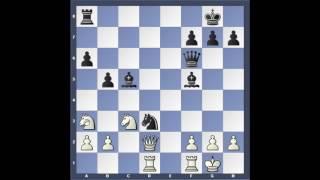 Karpov - Kasparov 16. einvígisskákin frá árinu 1985