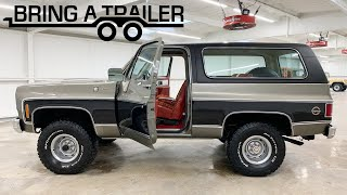 FOUND: 1978 Chevrolet K5 Blazer Cheyenne 4×4 (BARN FIND on Bring-A-Trailer)