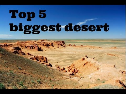 Top Largest Desert In The World YouTube - What is the largest desert in the world