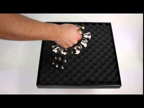Leather Handle with 5 Open Bells - 3+ video