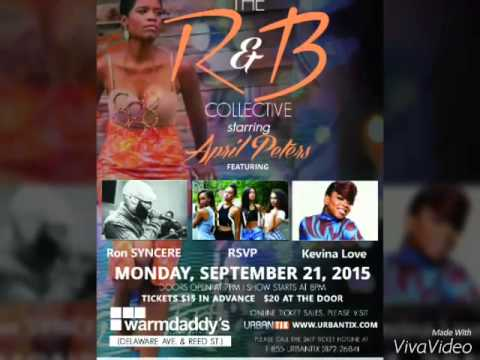 9.21.15 KEVINA LOVE LIVE IN PHILLY @THE LEGENDARYWARM DADDYS