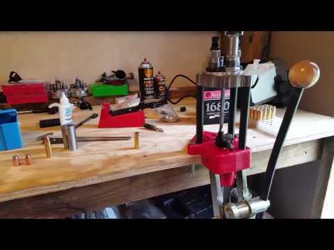 Reloading .458 Socom with Lee turret press