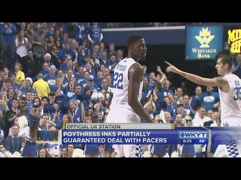 Poythress inks deal with Pacers