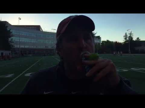 Mike Leach post practice 10-26
