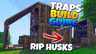 TRAPS TRAPS TRAPS!!! Environmental BUILD GUIDE | Fortnite Save The World