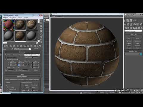 3ds Max: How to work with materials   lynda.com tutorial