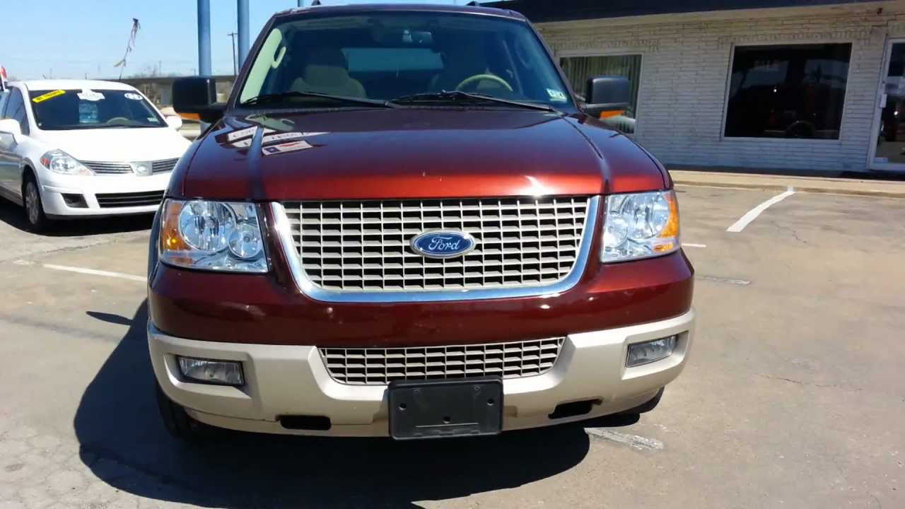 2006 ford expedition eddie bauer for sale buy here pay here dallas texas youtube. Black Bedroom Furniture Sets. Home Design Ideas
