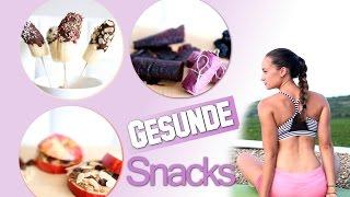 gesunde snacks heihunger abends rezeptideen vegane sigkeiten low fat low carb