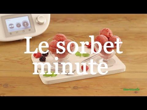 Recette du sorbet au fruits - Thermomix ® TM5 FR