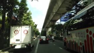 タイのバンコクの町をドライブ編①