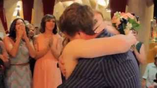 Best surprise marriage proposal at sisters own wedding set up by Bride herself