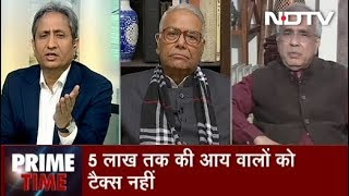 Prime Time With Ravish Kumar, Feb 01, 2019 | 3 Crore People Now Out of Taxpayers Base
