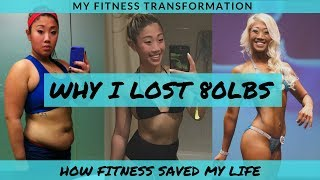 How I lost 80lbs // Weightloss Journey // I Was Bullied & Depressed