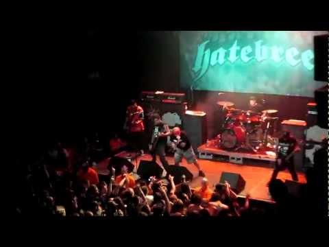 HATEBREED STOP SHOW EARLY SECURITY GUARDS ATTACKED BY CROWD  9/21/12 DENVER CO