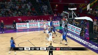 ფინეთი - იტალია. მატჩის საუკეთესო მომენტები #Eurobasket2017 Finland vs Italy Highlights