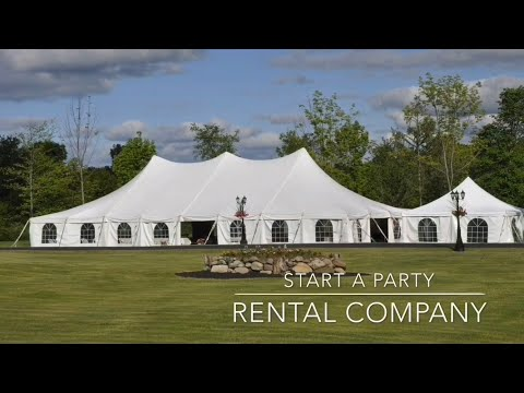 Tent Life - Start A Party Rental Company