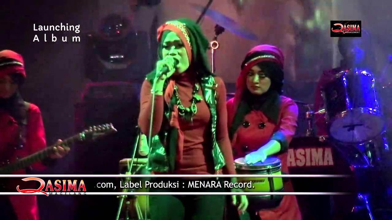 Edan Turun - Qasima feat Dwi Resti ( Live Launching Album ) - YouTube