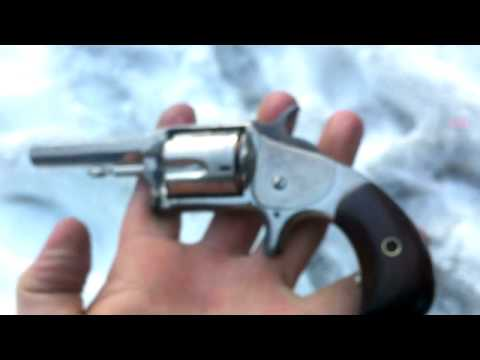 Hopkins Allen Antique Revolver 32 Rf Patented 1871 Youtube