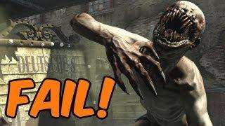 Zombie Mode Fail Video #1 - Bis einer heult!