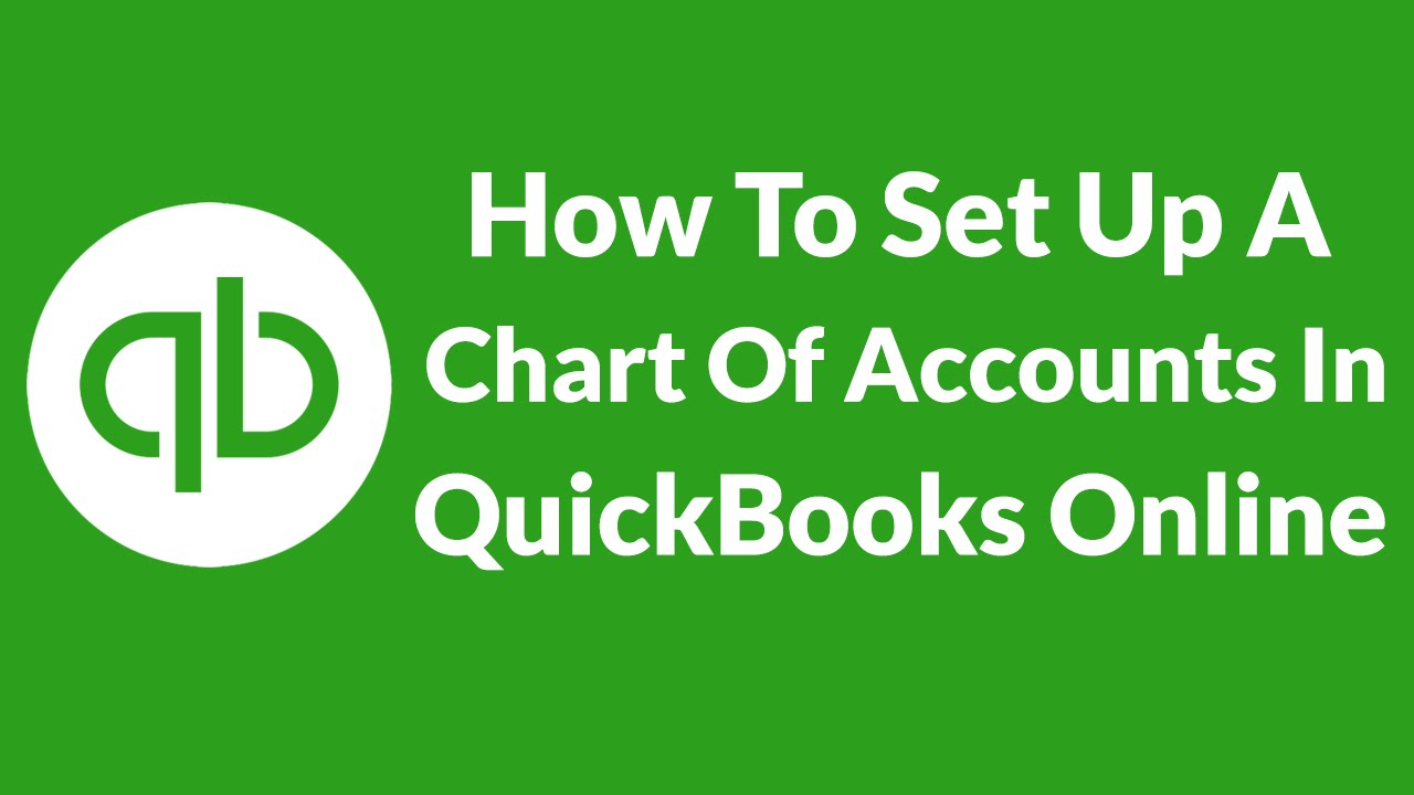 Quickbooks Charts of accounts