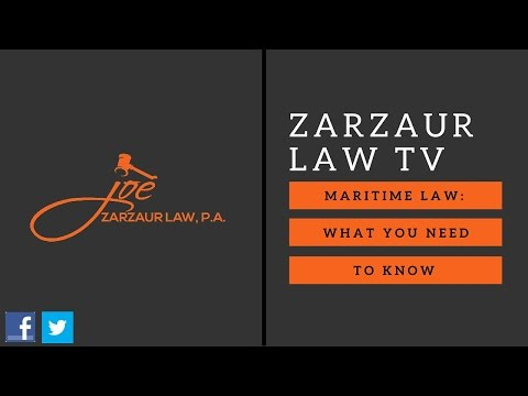 Maritime Law: What You Need To Know