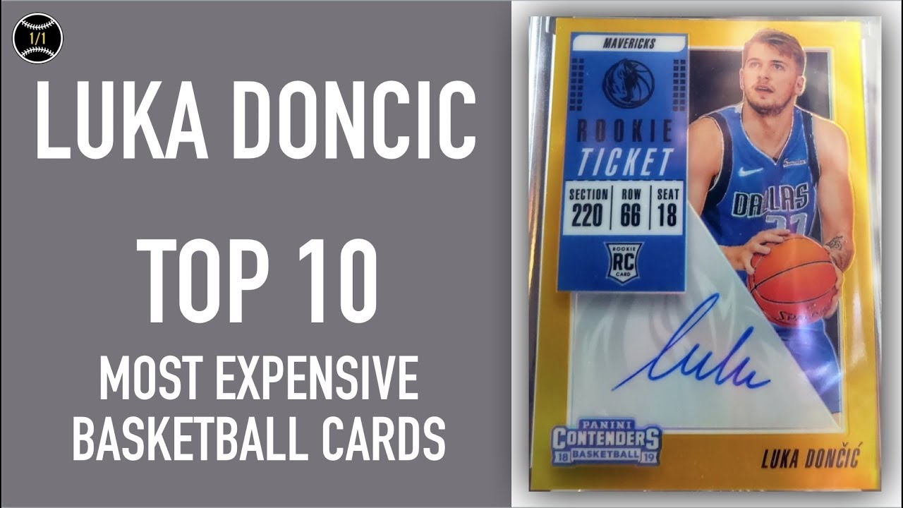 Luka Doncic Top 10 Most Expensive Basketball Cards Sold On Ebay November January 2019