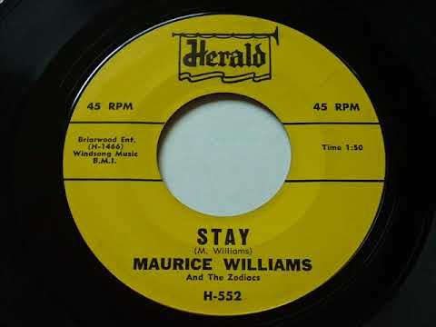 Maurice Williams & The Zodiacs - Stay  45rpm
