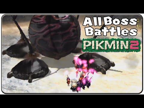 Pikmin 2 All Bosses