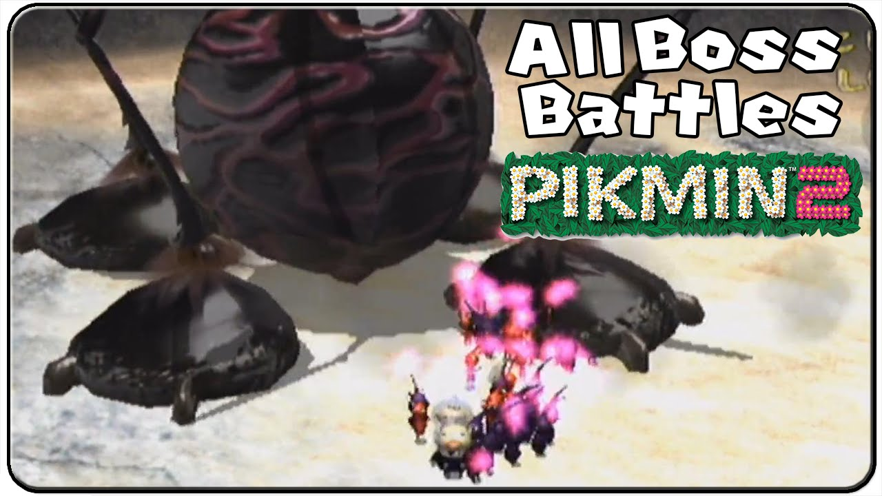 Pikmin 2 All Bosses Youtube