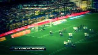 Gol de Paredes | Boca 1 - 1 Tigre | Fecha 15 Torneo Inicial 2013 (Full HD)
